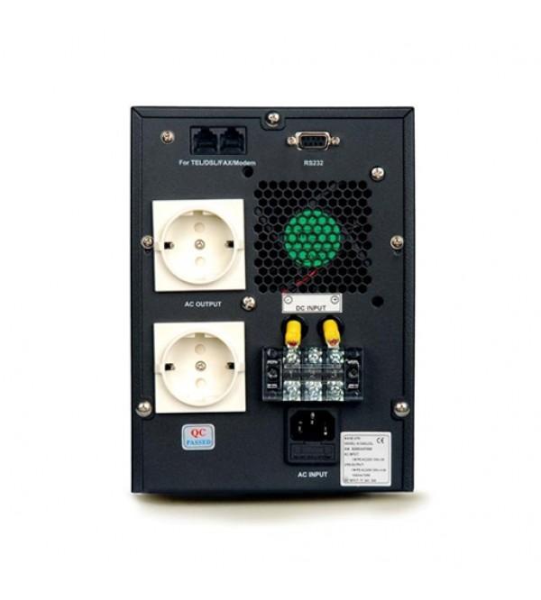 یو پی اس Power سری KI 1000L دارای باتری خارجی