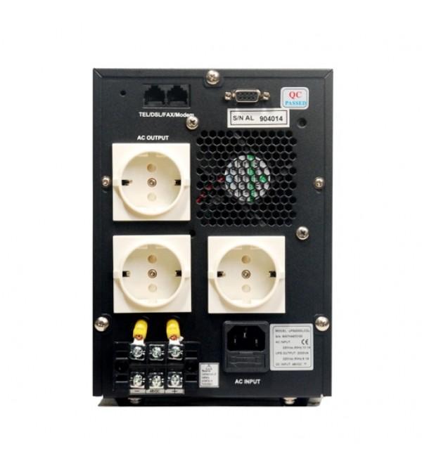 یو پی اس LCD series 1600S دارای باتری داخلی