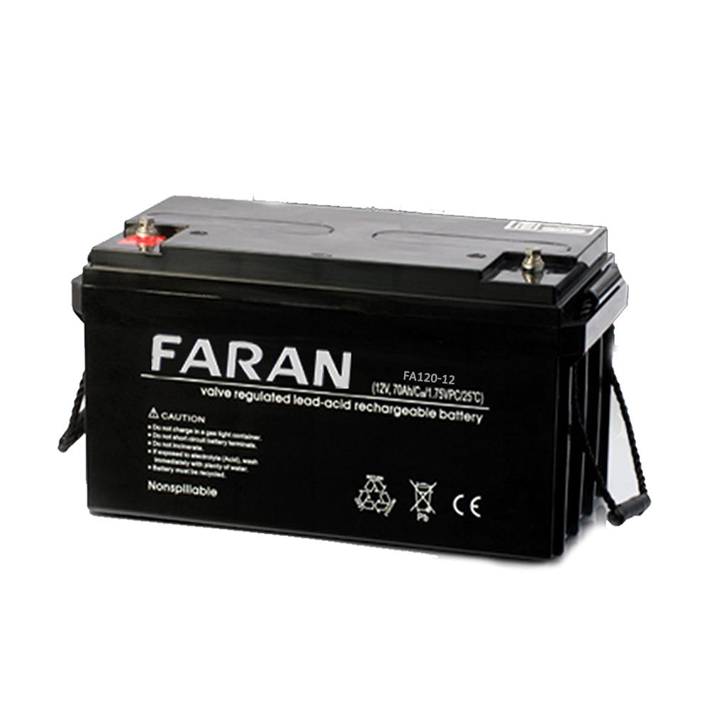 باتری سیلد اسید ۱۲۰ آمپر فاران ۱۲V-120A UPS Battery Faran