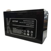 باتری سیلد اسید کی استار ۱۲V 12A Kstar 12V 12A VRLA Battery