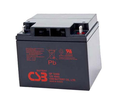 باتری سیلد اسید فاراتل ۱۲V40AH CSB Battery UPS Faratel