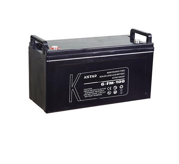 باتری سیلد اسید کی استار ۱۲V 100A Kstar 12V 100A VRLA Battery