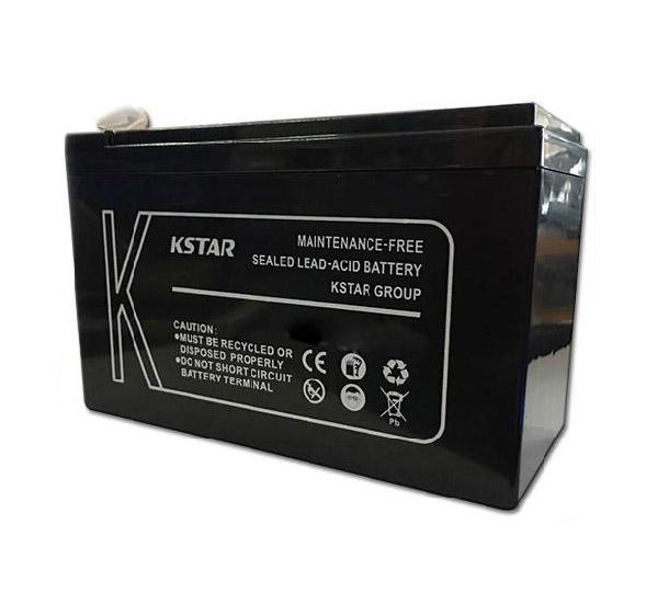 باتری سیلد اسید کی استار ۱۲V 65A Kstar 12V 65A VRLA Battery