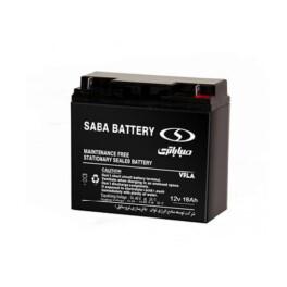 باتری یو پی اس سیلد اسید صبا باتری ۱۸ آمپر