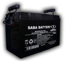 باتری یو پی اس (سیلد اسید) صبا باتری ۱۰۰ آمپر