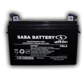باتری یو پی اس ۱۲ ولت ۷ آمپر ساعت صبا باتری