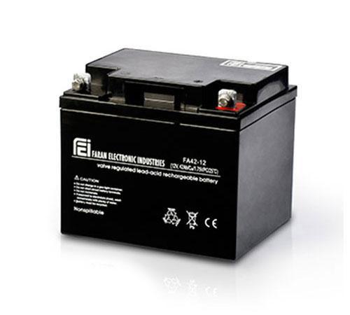باتری سیلد اسید فاران ۱۲V-100A UPS Battery Faran