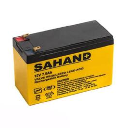 باتری یو پی اس سهند ۱۲ ولت ۷٫۵ آمپر ساعت