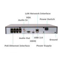 دستگاه ان وی آر های لوک ۸ کاناله مدل ۱۰۸MH-C/8P