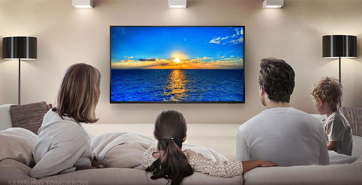 تلویزیون تی سی ال مدل ۴۳D3000i با قابلیت نصب روی دیوار