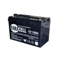 باتری یوپی اس فاراتل ۱۰۰آمپر ۱۲v-100ah faratel