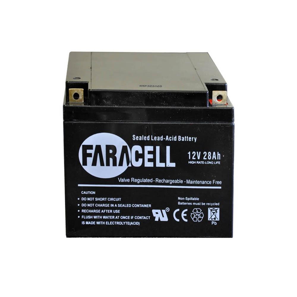 باتری یوپی اس فاراتل ۲۸ آمپر ۱۲v-28ah faratel