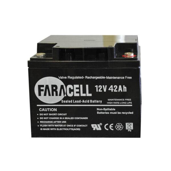 باتری یوپی اس فاراتل ۴۲ آمپر ۱۲v-42ah faratel