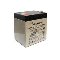 باتری یو پی اس ۱۲ ولت ۵ آمپر ساعت یورونت
