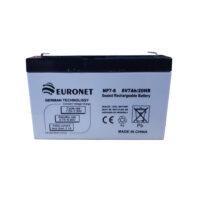 باتری یو پی اس ۱۲ ولت ۷ آمپر ساعت یورونت