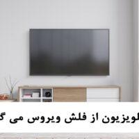 آیا تلویزیون از فلش ویروس می گیرد؟
