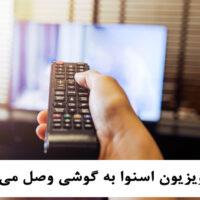 آیا تلویزیون اسنوا به گوشی وصل می شود؟