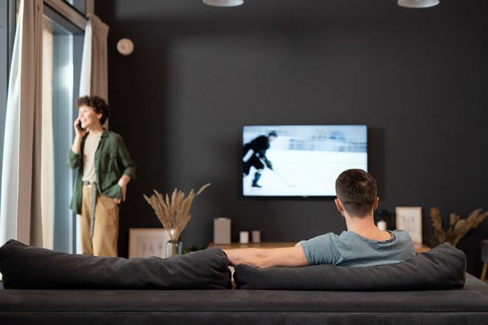 تلویزیون ال جی با رسیور دار