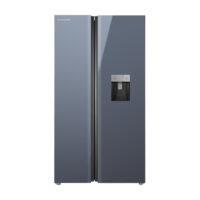 یخچال و فریزر ساید بای ساید ایکس ویژن تیتانیوم TS665-AGD