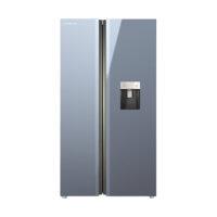 یخچال و فریزر ساید بای ساید ایکس ویژن تیتانیوم TS550-AGD