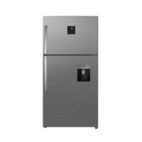 یخچال و فریزر ایکس ویژن مدل بالا فریزر نقره ای TT580-AMD