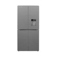 یخچال و فریزر چهار درب ایکس ویژن نقره ای مدل TF540-AMD