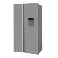 یخچال و فریزر ساید بای ساید ایکس ویژن استیل TS665-ASD