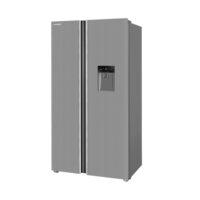 یخچال و فریزر ساید بای ساید ایکس ویژن استیل TS550-ASD